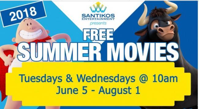 Santikos Free Summer Movies Rialto Kids Out And About San Antonio