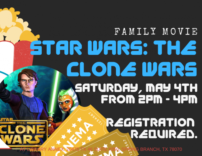 Family Movie - Star Wars: The Clone Wars | Kids Out and About San
