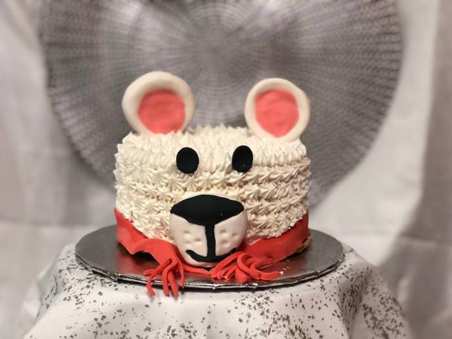 Prime Kids Camp Polar Bear Cake Over The Top Cake Supplies San Birthday Cards Printable Trancafe Filternl