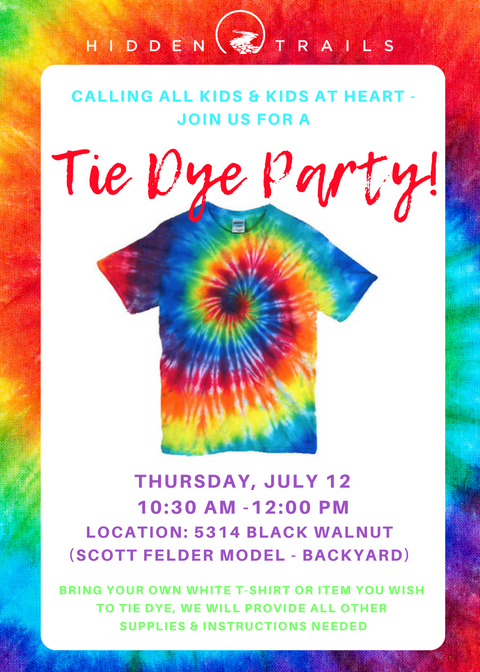 Tie Dye Party Kids Out And About San Antonio